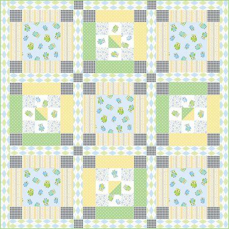 Benartex Free Patterns Free Pattern Little Boy Blue Quilt From