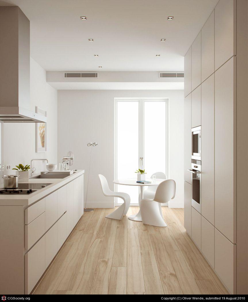 Küchenschränke für kleine küchen kitchen   bulthaup b by oliver wende  d  cgsociety  kleine