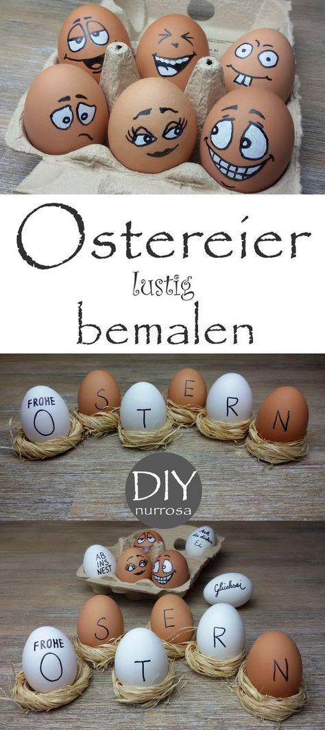 osterdeko ostern ostern ostern eier und diy ostern. Black Bedroom Furniture Sets. Home Design Ideas