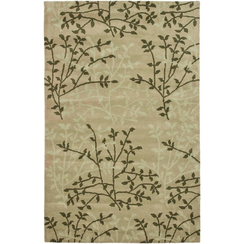 Safavieh Soho Light Brown Multi 3 Ft X 8 Ft Runner Rug Soh733d 28 The Home Depot Wool Area Rugs Area Rugs Floral Area Rugs