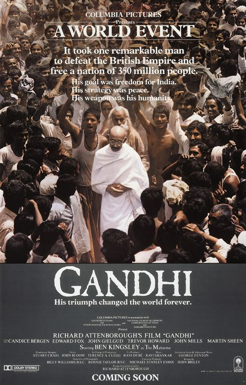 Best Movies To Watch 100 Must See Movies The Art Of Manliness >> Best Movies To Watch 100 Must See Movies My Movies Gandhi Film