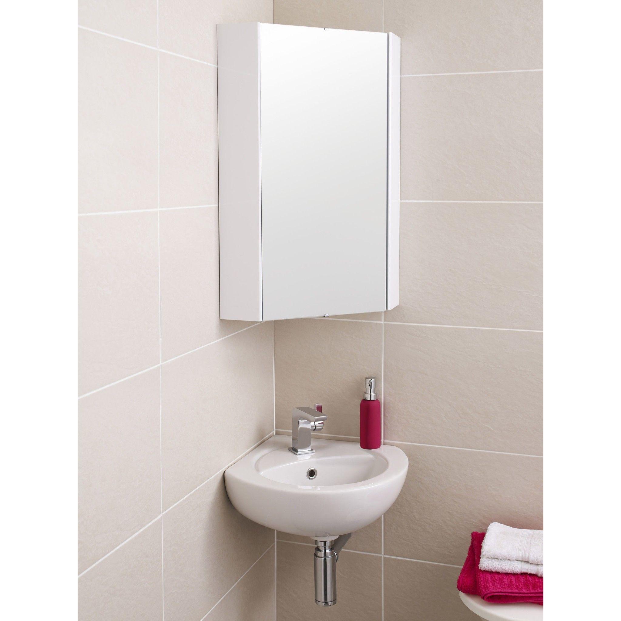 Wonderful 15 Clever Pedestal Sink Storage Design Ideas