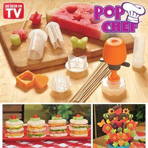 DIY 6 Shapes Cake Fruit Vegetable Maker Shaper Food Decor Cutter Gadget Tool Set