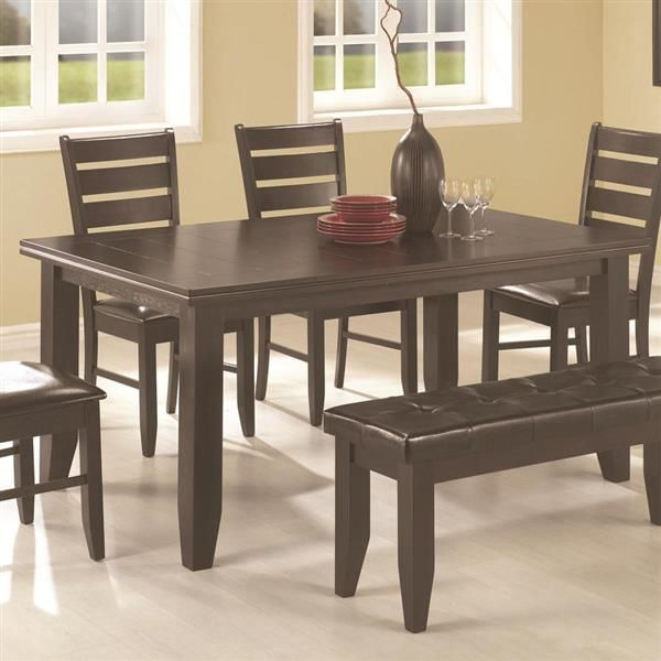 34++ Coaster dining table with bench Inspiration