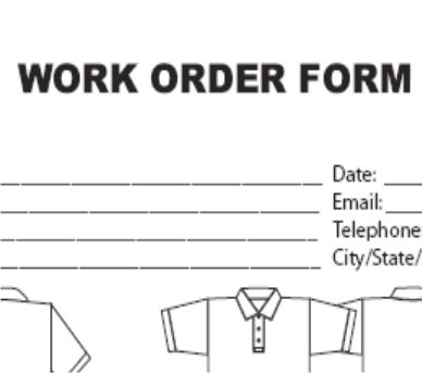 ORDER FORM!!!!! embroidery Pinterest Order form, Stationary - duplicate order form