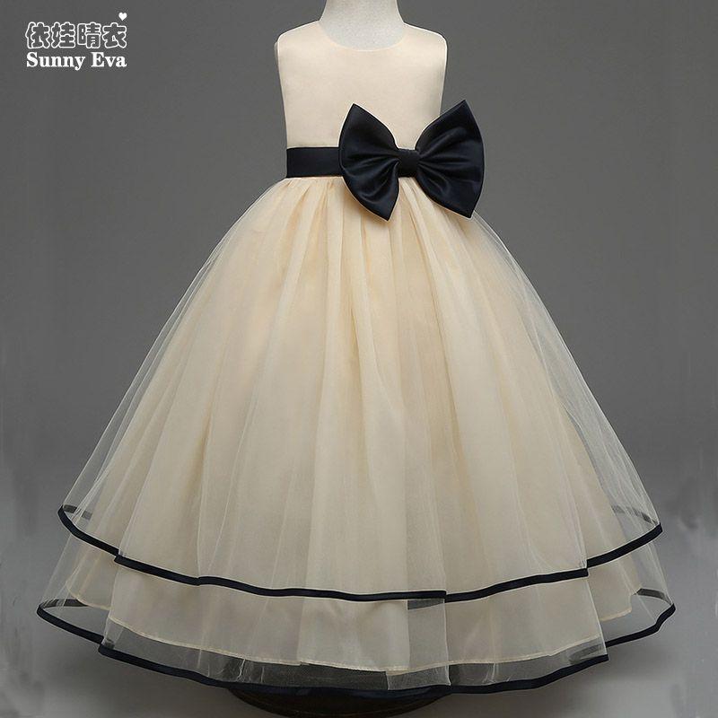 Sunny Eva Cream Lace Party Girl Dress Baby Clothes Bow Princess