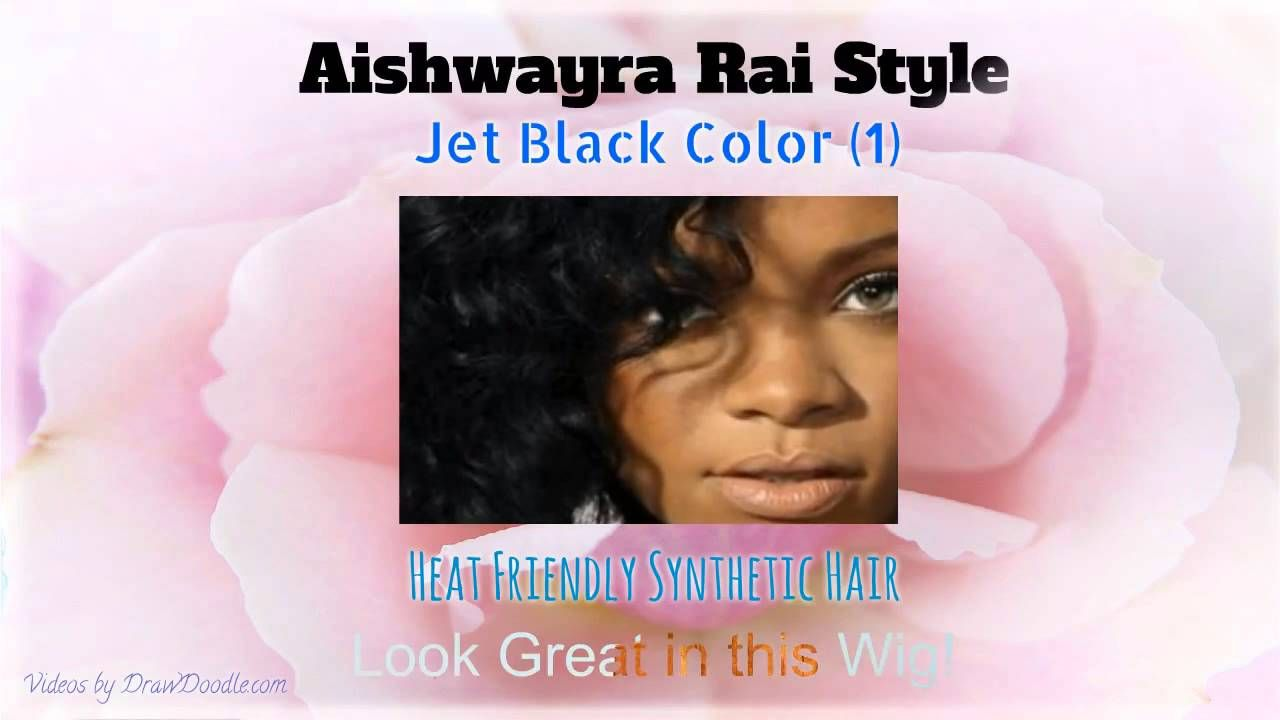 Rihanna Fire Curly Synthetic Lace Front Wig