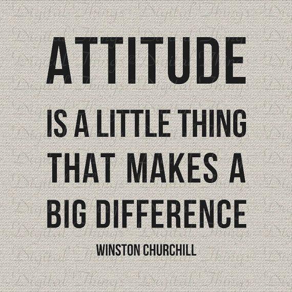 Inspirational Attitude Quote Printable Typography Digital Etsy Attitude Quotes Printable Quotes Quotes