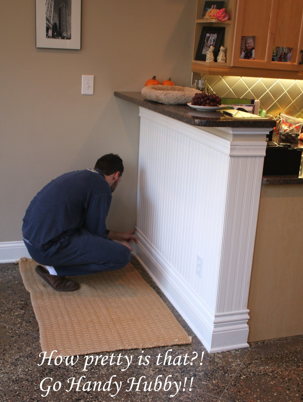 Pin By Pam D On For The Home Wainscoting Styles Wainscoting Kitchen Wainscoting