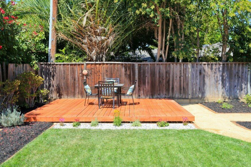 26 floating deck design ideas floating deck deck design for Decking for back garden