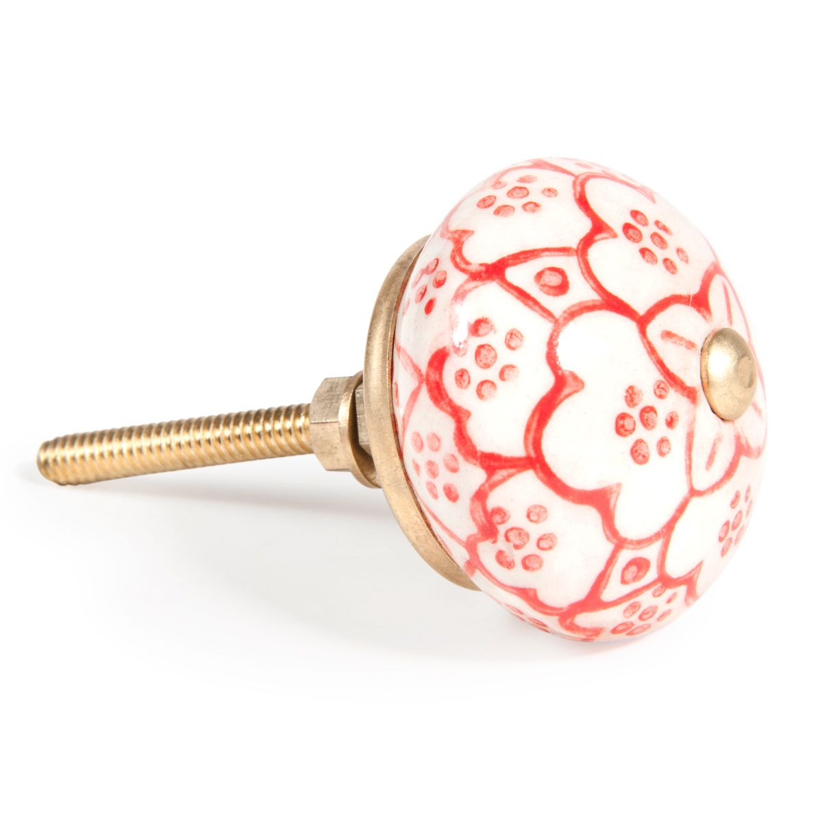 Bastida door knob in red maisons du monde knobalicious pinterest door knobs armoire et - Bouton de porte maison du monde ...