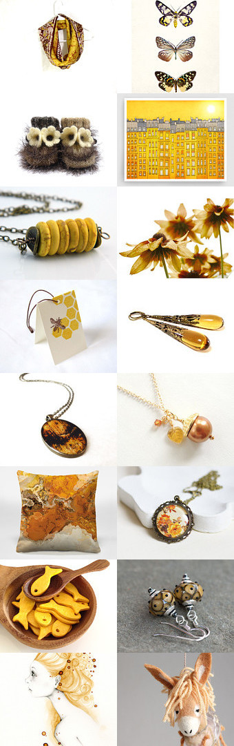 Golden Autumn by Linda Karen on Etsy--Pinned+with+TreasuryPin.com