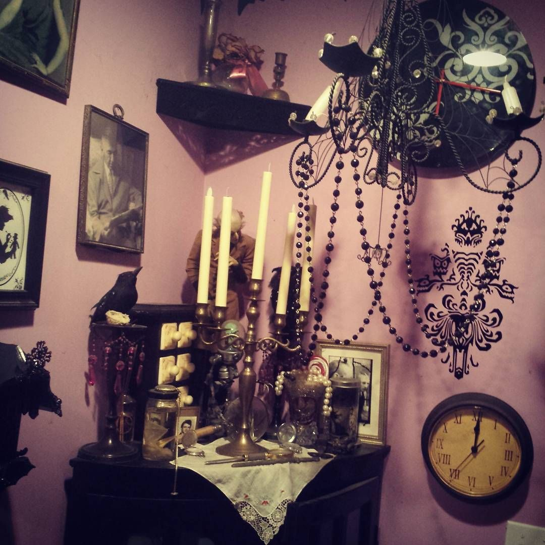 Gothic Schlafzimmer Amazing Goth Corner House Interior And Decorations