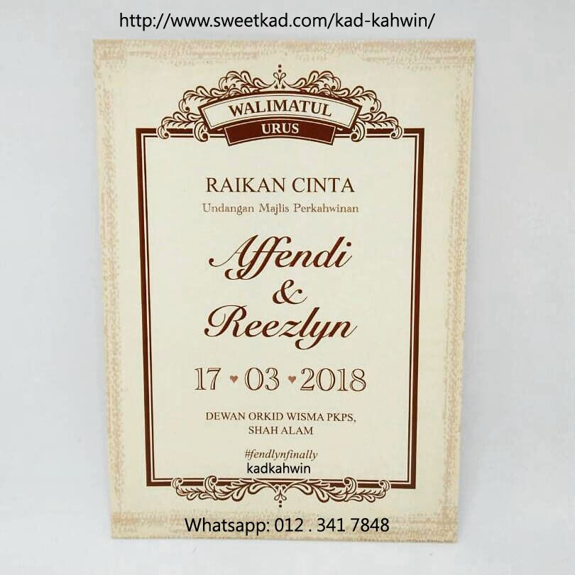 We Have An Affinity To Innovative And Beautiful Kadkahwin So Make Sure That Our Kadkahwindiyonlinemalaysia Will Enhance The O Kad Kahwin Diy Online Wedding