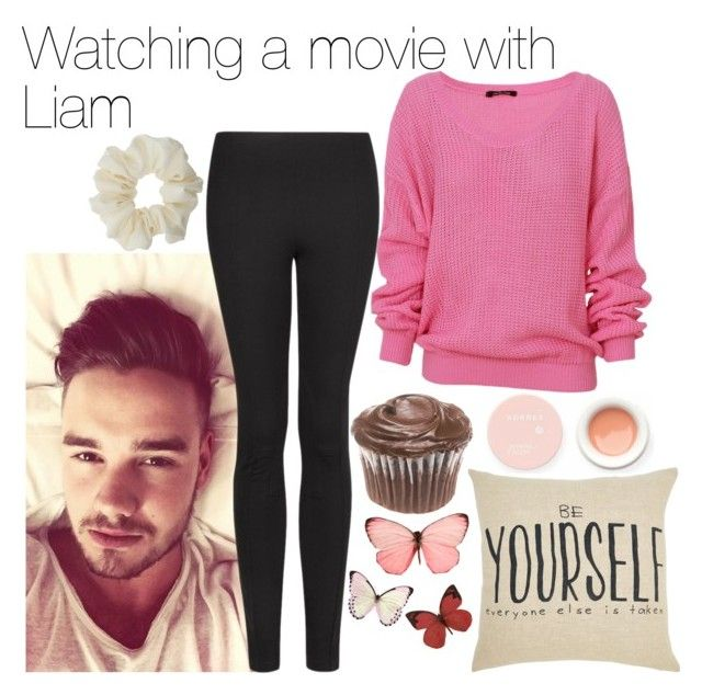 """""""Watching a movie with Liam"""" by phenomeniall-style ❤ liked on Polyvore featuring Payne, Korres, MANGO, H&M, Miss Selfridge and LiamPayne"""