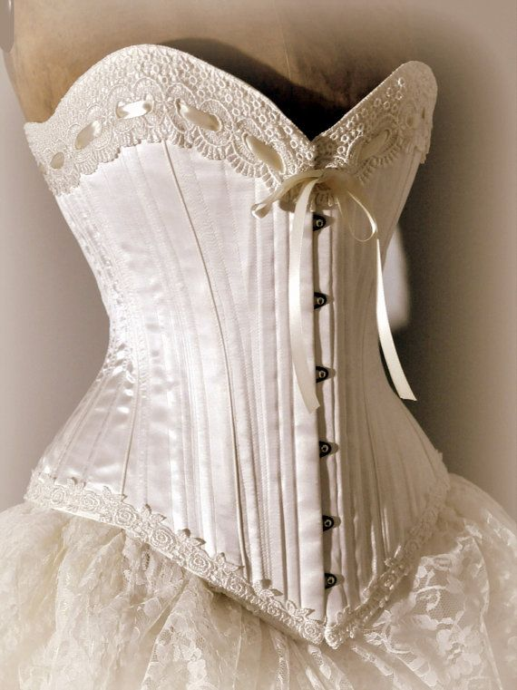 Victorian Corset Wedding Dress