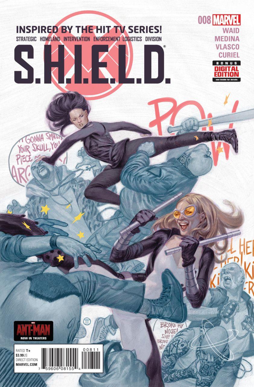 S.H.I.E.L.D. 8 No Angel (Issue) Melinda may, Capitã