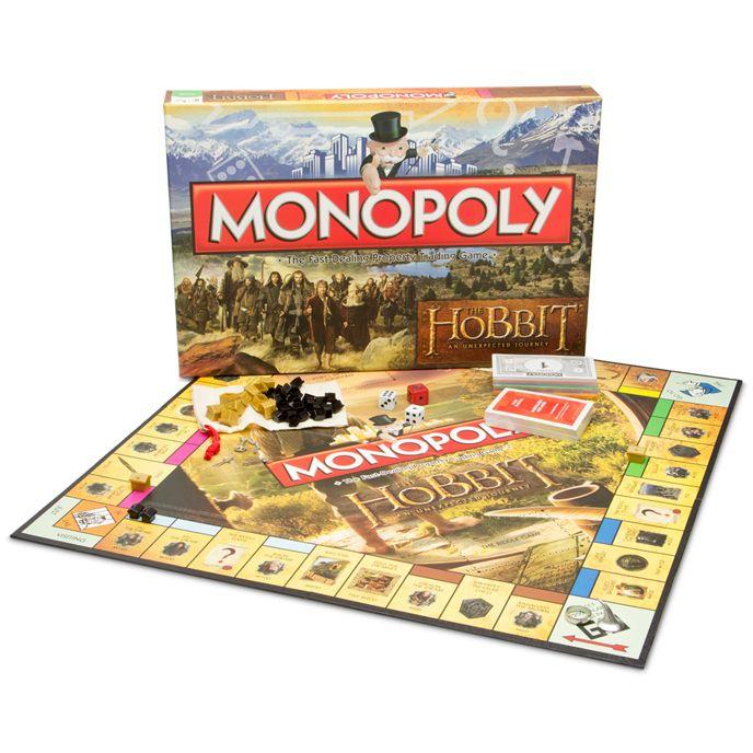 Monopoly The Hobbit Special Edition Monopoly Jogos Tradicionais Jogos