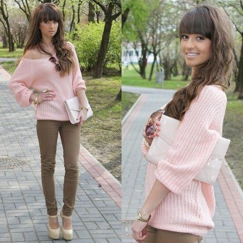 love the knitted top <3