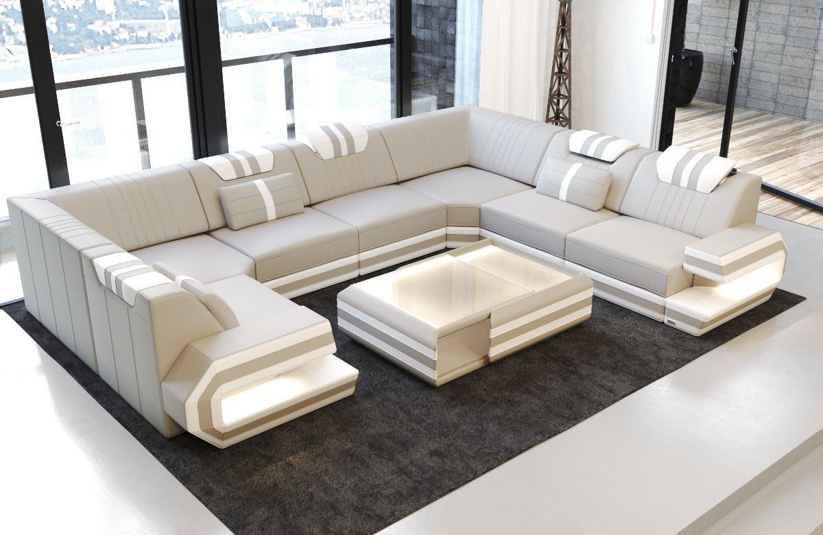 Luxury Sectional Sofa San Antonio U Shape Sofa Design Wohnen