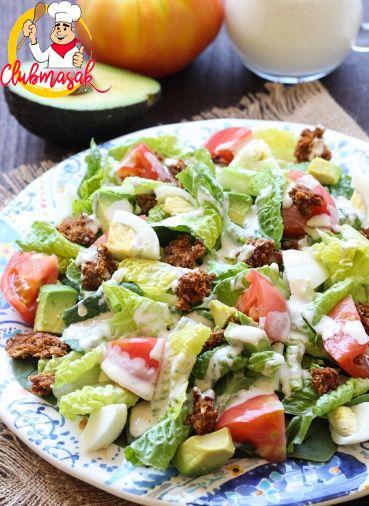 Resep Hidangan Sayur Salad Sayur Saus Yoghurt Salad Sayur Untuk Diet Club Masak Salad Sayur Masakan Sayuran