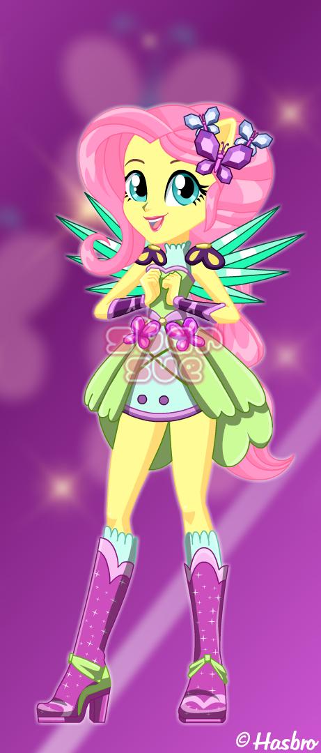 MLPEG Legend of Everfree Crystal Guardian Fluttershy Dress ...