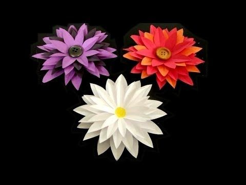 Download video how to make paper flower tutorial paper flower download video how to make paper flower tutorial mightylinksfo