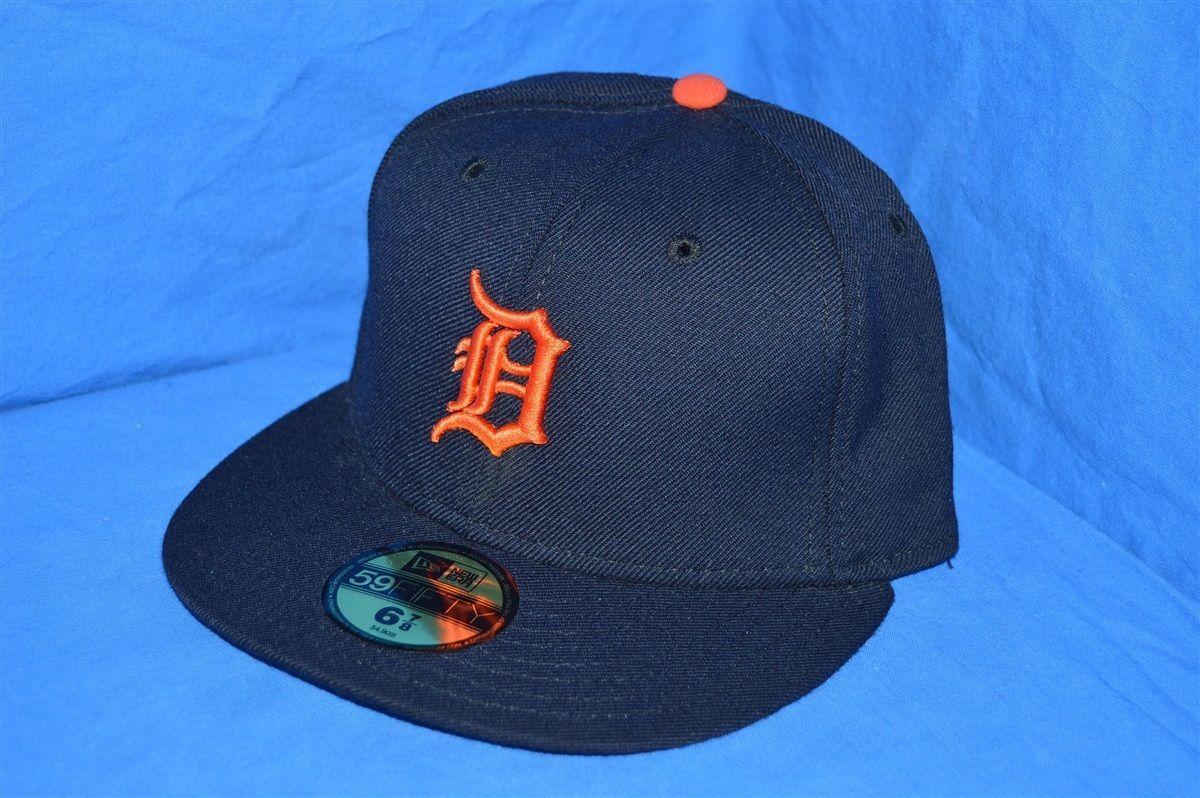 Detroit tigers blue wool new era 5950 gray under brim