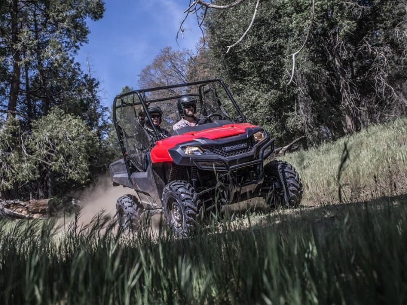 New 2017 Honda Pioneer 7004 ATVs For Sale in Michigan