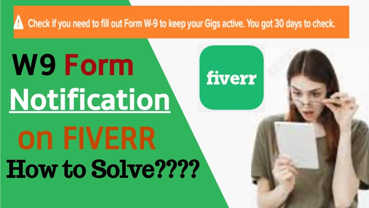 How To Fill Out W9 Form On Fiverr Fiverr Filling Form
