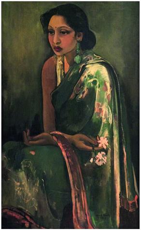 Sumair by Amrita Sher-Gil (1936)