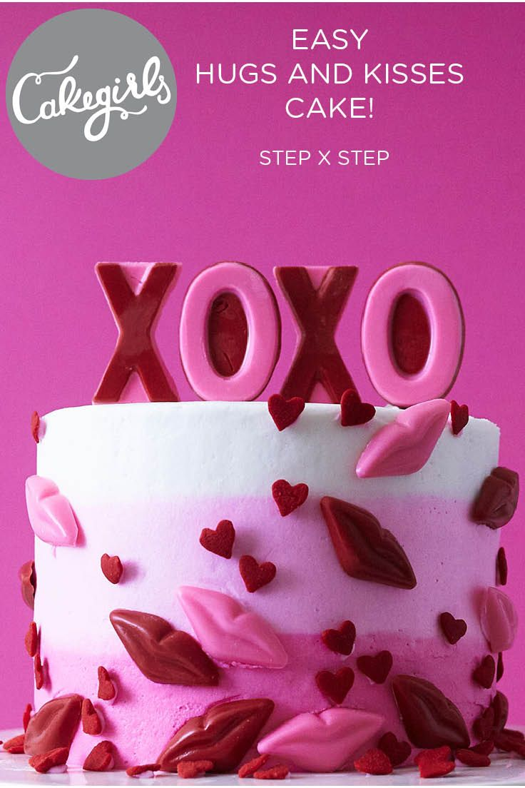 How To Make A Simple Valentine's Day Party Cake -   19 round cake decor