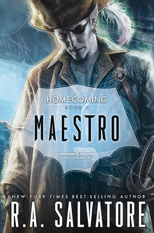 Maestro homecoming 2 by ra salvatore april 5th 2016 by books fandeluxe Images