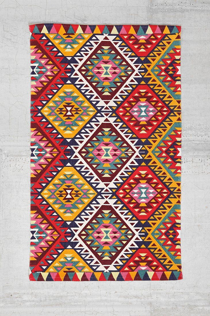 magical thinking ankara diamond printed rug urban outfitters colors and patterns pinterest. Black Bedroom Furniture Sets. Home Design Ideas
