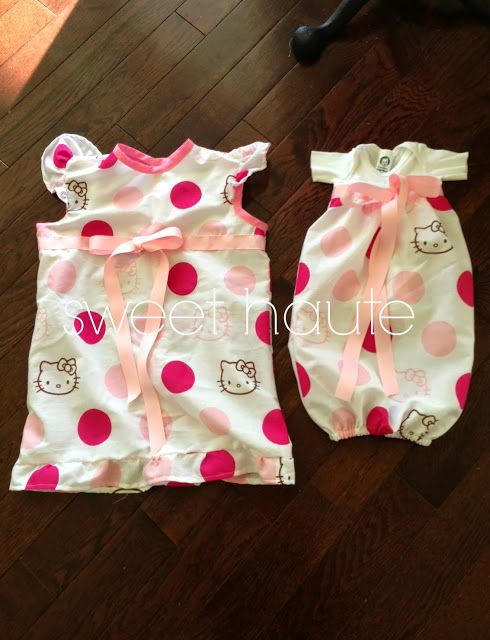SWEET HAUTE: DIY Delivery Hospital Maternity and Newborn Gowns, Big ...