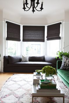 I Want To Find Cushions Like These For The Bay Window!