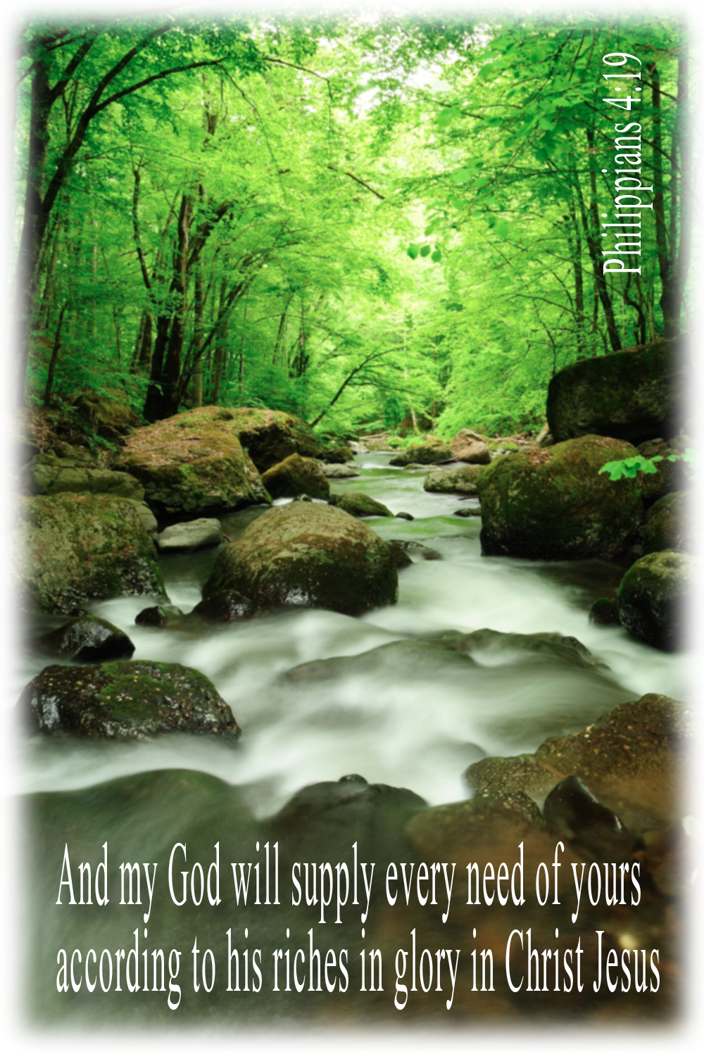 God will meet your needs! Devotional and free image download at http://scripturesquegraphics.com/jumping-up-and-down/ Click on the image!