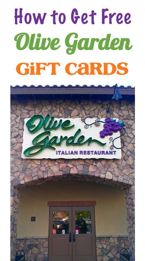 Date Night Ideas Cheap Trick - How to get Free Olive Garden Gift Cards!