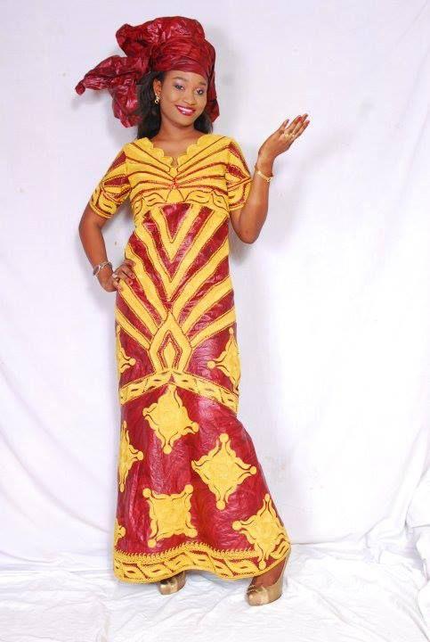 modele couture bazin
