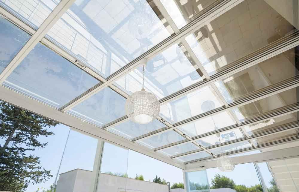 Tettoie Mobili ~ Coperture mobili copertura mobile 66% in vetro salotto in