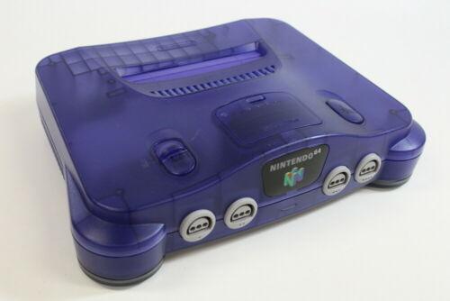 Nintendo 64 Region Free Console N64 Japan Import Us Seller Play Us Jp Games Ebay N64 Console Nintendo 64