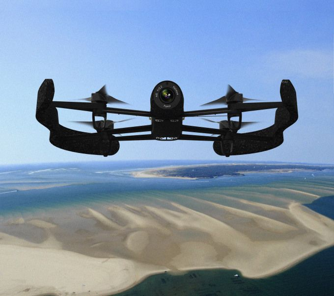 """""""It's essentially a flying camera that can even pipe imagery directly into an Oculus Rift headset, taking flying in the clouds to a whole new level."""""""