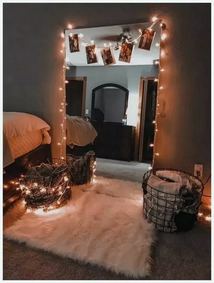 44+ Dorm Room Inspiration Decor Ideas For College ... on Room Decor Paredes Aesthetic id=23291