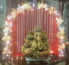 innovative ganpati decoration ideas for home
