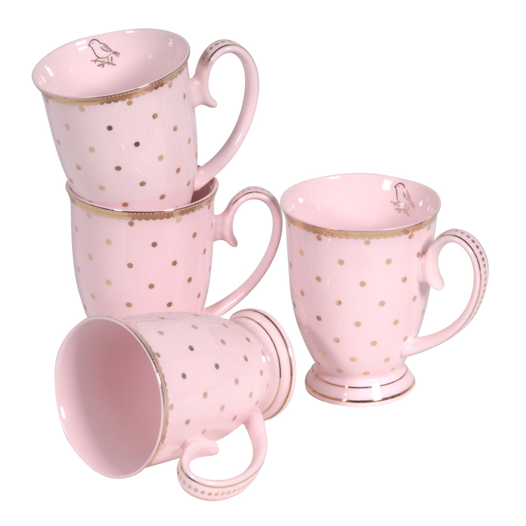 Küche Pastell Rosa Gone Dotty Pink Mugs Kitchen Accessories Accessories