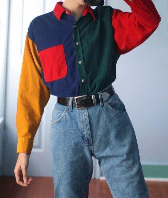 80er Jahre Mode #grungeoutfits