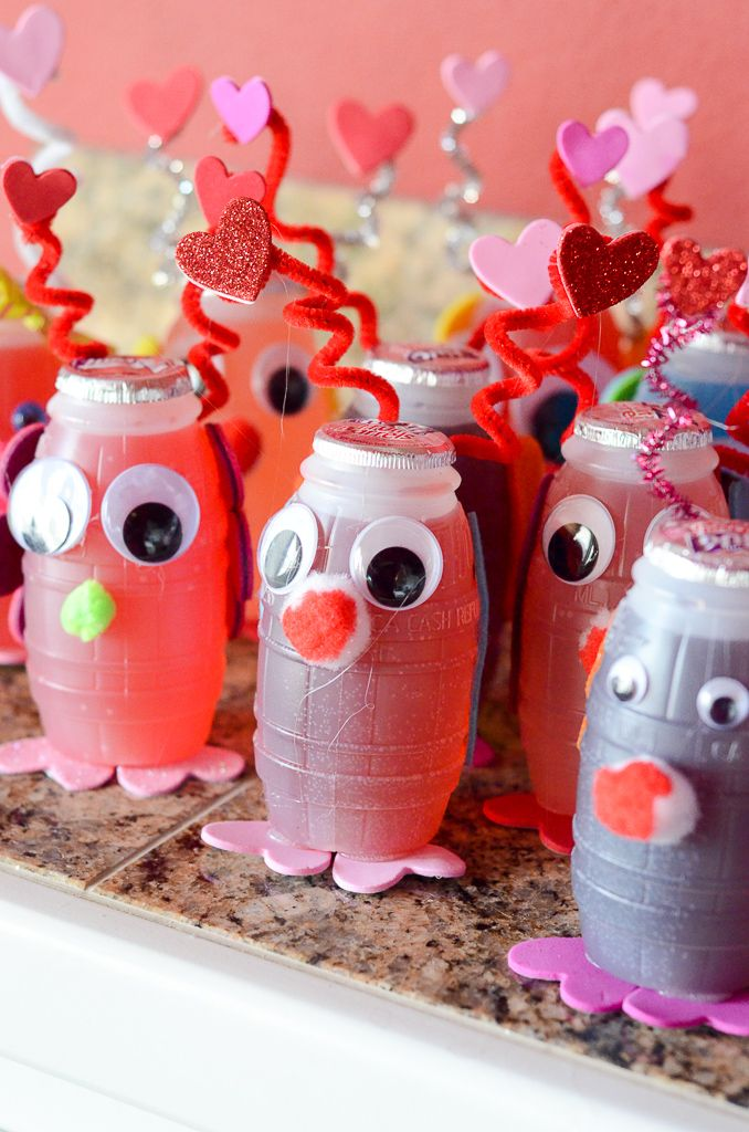 Love Bug Juice Boxes – Kids' Valentine's Ideas – The Gifted Gabber
