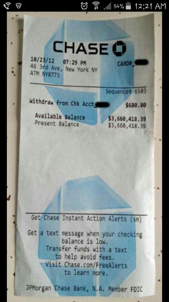 Manifestation I Did Stolden Money Affirmations Bank Account Balance Chase Bank