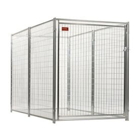 Lucky Dog 10 ft x 5 ft x 6 ft Outdoor Dog Kennel Preassembled Kit Lowes