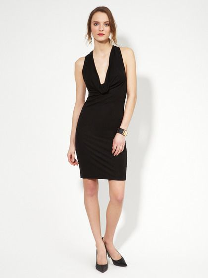 Nice LBD. Jersey Cowl Ring Back Dress by Alexia Admor on Gilt
